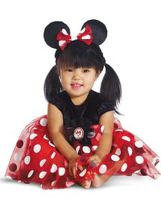 Infant Disney's Red Minnie Costume | Cheap Disney Costumes for Infants & Toddlers