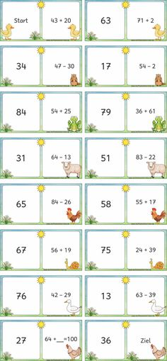 Mathemonsterchen – Dominos - New Site Montessori Math, Montessori Education, Becoming A Teacher, Math Addition, Vowel Sounds, Christmas Activities, Fun Math, Math Lessons, Mathematics