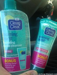 Spotted: NEW Clean & Clear Morning Burst Hydrating Collection - Beauty - Beauty Care, Beauty Skin, Health And Beauty, Beauty Tips, Beauty Hacks, Skin Care Tips, Skin Tips, Face Care Routine, Acne Face Wash