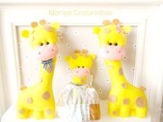 Giraffe family, lindas