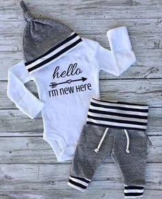 A personal favorite from my Etsy shop https://www.etsy.com/ca/listing/503942523/baby-boy-going-home-outfit-baby-girl