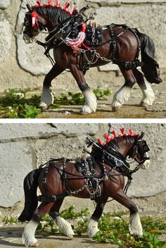 Harness in progress by Tackmaker mojcaj on DeviantArt - model horse -