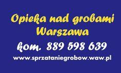 Gumtree: Opieka nad grobami, porządkowanie grobów Warszawa