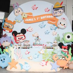 It's underwater Tsum-Tsum 1st Birthday! How cute! And it was for Jamie's 1st Birthday at the Container Grill, Gading Serpong! Jamie's mom, Diane requestedCottontail Events to decor for Jamie's dessert tables and kids' activities.Cottontail Eventsmake it awesome by integrating underwater sea withTsum-Tsum. Here's the first look of the Dessert Table which Tiger Mom captured through …