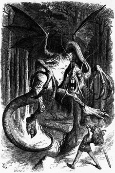 President Jabberwock and the Jewish Right BRET STEPHENS He is a Jabberwock president nonsensical menacing and beyond reason.