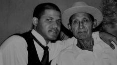 Victor Marcano (Milocito) with his son  #grandpa #family. #father. #MarcanoFamily #grandchild