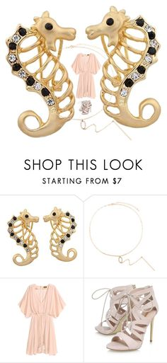 """""""ISHOW Sea horse earring playing with beauty"""" by ishowyoushowhy on Polyvore featuring Carvela"""