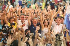NOVO MANDATO  'Uma votação como essa é a renovação', diz Artur após ser reeleito em Manaus  Artur é o primeiro prefeito reeleito em Manaus...