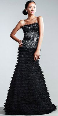 Nika Lace Evening Gowns