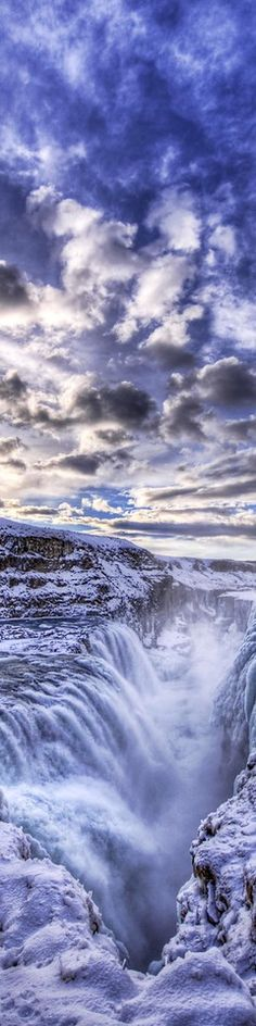 Theologians used to think this icy waterfall was the entrance to Hell - photo from #treyratcliff Trey Ratcliff at www.StuckInCustom... - all images Creative Commons Noncommercial
