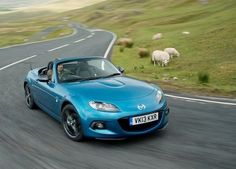 Mazda's MX-5 + good weather = fun | Road tests | DriveBlog.co.uk