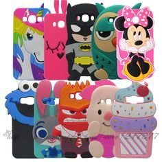 For Samsung Galaxy ON5 cases 3D Cute Minnie Batman Rabbit Owl Cake Silicone Rubber back Cover For Samsung Galaxy On 5 G5500