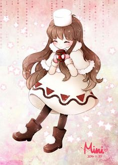 Cocoa Cookie - Cookie Run - Mobile Wallpaper - Zerochan Anime Image Board Cocoa Cookies, Cute Cookies, Anime Chibi, Anime Art, Cookie Run, Witch Art, Kawaii Drawings, Disney Fan Art, Cute Characters
