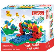 Korbo 90 Hydro - Juguete De Construcción Con Engranajes Korbo KOR-1012 Kinuma.com