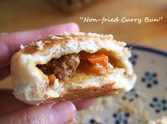 Non-fried Curry Buns 揚げないカレーパン