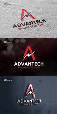 Advantech - Letter A Logo Electrical Company Logo, Electrician Logo, Logos, Text Quotes, Symbol Logo, Coreldraw, Visual Identity, Cool Pictures, Engineering