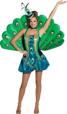 Sexy Peacock Costume for Women - Party City