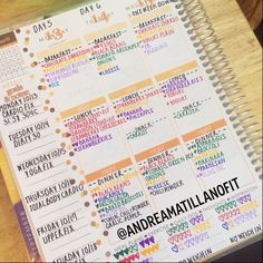 21 Day Fix Meal Planning with an Erin Condren Life Planner (HOW TO: http://youtu.be/keIfYV-pCFw)