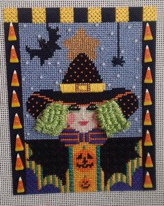 Love the hair on this witch!