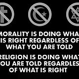 Christian Christianity religion atheism atheist satan satanism devil agnostic agnosticism no religion anti god anti religion Moral Frases, What Are Rights, Do What Is Right, Morals, Inspire Me, In This World, Wise Words, Favorite Quotes, Favorite Things