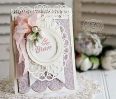 How to Get Beautiful Snippings of your Dies and a Hands on Video Tutorial (Amazing Paper Grace) Fun Fold Cards, Cute Cards, Becca Feeken Cards, Handmade Card Making, Handmade Cards, Spellbinders Cards, Anna Griffin Cards, Shabby, Paper Cards