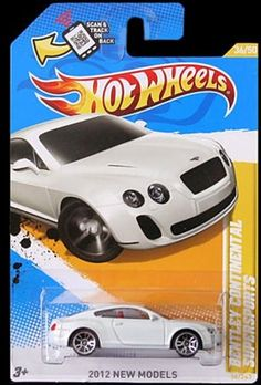 Hot Wheels 2012 Bentley Continental Supersports WHITE New Models. -- You could obtain added details at the photo link. (This is an affiliate link). Sports Games For Kids, Toys For Boys, Paw Patrol Party Favors, Kids Motorcycle, Play Vehicles, Bugatti Cars, Matchbox Cars, Chrome Wheels, Transformers Toys