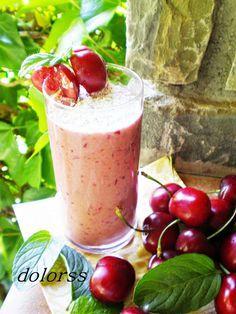 Blog de cuina de la dolorss: Batido de cerezas y chocolate blanco