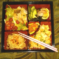 Another delicious bento box from Shin...yummmmm...