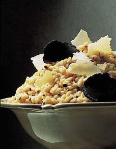 Risotto aux truffes et parmesan
