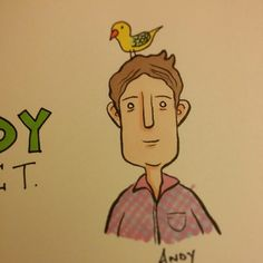 Andy. Character design.