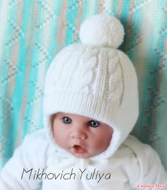 Knitting Patterns For Kids Hats Yarns 54 Best Ideas Baby Knitting Patterns, Baby Hats Knitting, Knitting For Kids, Knitted Hats Kids, Kids Hats, Crochet Baby Beanie, Crochet Hats, Diy Crafts Knitting, Baby Sweaters