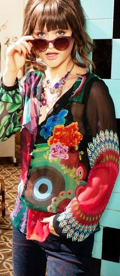 Desigual F/W 2013 - Just found this brand in London KY of all places!!!