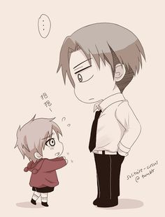 "Rivaille and Little Eren! >w< ... ""Reincarnation AU, where Eren and Rivaille are brothers (4 and 15 years old respectively)."" ~ by solitaire-circus on Tumblr (2)"