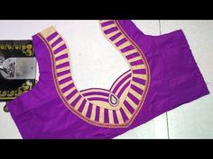 Easy blouse designing at home || Women's fashion blouses || latest design of ladies blouses || - YouTube