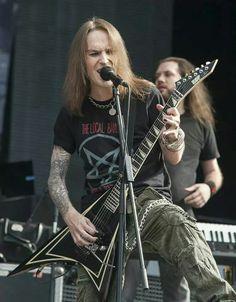 Children of Bodom Alexi Laiho, Children Of Bodom, After Midnight, Metal Girl, Death Metal, Music Stuff, Dark Side, Rock N Roll, Musicians