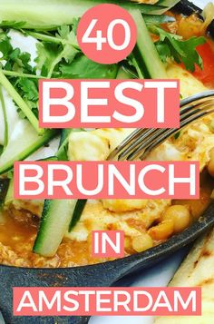 40+ BEST BREAKFAST & BRUNCH SPOTS IN AMSTERDAM