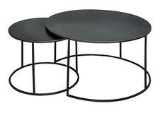au caillou amoureux - table n°1 : 70cm x H 40cm - table n°2 : 50cm x H 37cm / PRIX du set 380€