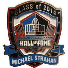 New York Giants NFL Michael Strahan Hall of Fame