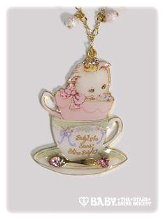 Salon de thé Minette Necklace Btssb