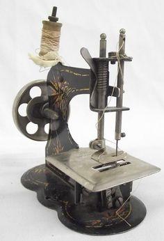 1900s Antique German Child's Sewing Machine