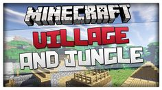 Minecraft seed with a village and jungle at spawn! It works in Minecraft and Seed is: 2835344613182623992 So you spawn into a plains biome with a NP. Minecraft Seed, Biomes, Spawn, Seeds