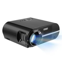 """""""Features & Benefits"""" LESHP LCD Portable Video Home Projector With 3200 LED Luminous Efficiency Max 280"""" Screen With Optical Keystone USB/AV/HDMI/VGA Interface - 1080P HD Projectors for Video Games And Movies"""