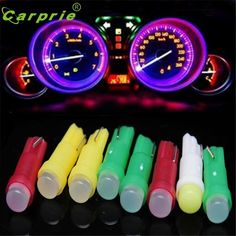 Car-styling 10PC T5 Car auto Cob Led white LED lamps Car Door LED Light Reading Light Bulbs DEC 29#2