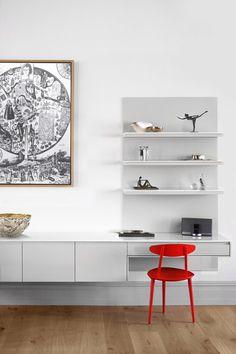 London Atelier reorganises Victorian house to create multi-level apartment.
