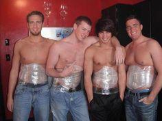 Les hommes aussi ont posés leurs wraps !