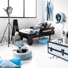 Credit: rafa-kids blogspot.nl #kids #kidsroom #boysroom