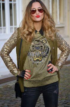 Lima's Wardrobe: Sequin Parka