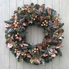 Fresh Christmas Wreaths - Precious Metals
