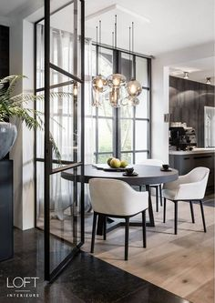 20 Incredible Diningroom Design Ideas That Looks Cool Dining Room Inspiration, Interior Design Inspiration, Home Decor Inspiration, Home Interior Design, Interior Architecture, Küchen Design, House Design, Design Ideas, Sweet Home