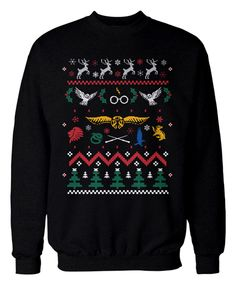 Harry Potter fans! Get your LIMITED EDITION Ugly Sweaters here!